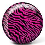 Brunswick Pink Zebra Glow Viz-A-Ball Bowling Ball (10lbs)