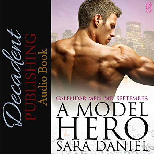 A Model Hero audiobook cover art