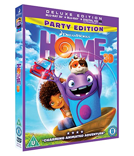 Home [Blu-ray 3D + Blu-ray + UV Copy]