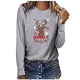 TOWAKM grau Sweatshirts Damen Streifen Herren 3XL XL grau