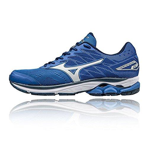 Mizuno Wave Rider 20, Zapatillas de Running para Hombre, Azul (Nautical Blue/White/Dress Blues), 39 EU