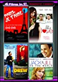 Four Movies in One: Romantic Comedy  (Paris Je T'Aime / The Truth About Love / My Date with Drew / Jack and Jill vs. The World)
