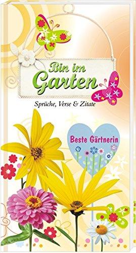 AV Andrea Verlag Bin im Garten Bester Gärtner Beste Gärtnerin (Bin im Garten - Beste Gärtnerin: Sprüche, Verse & Zitate 12422)