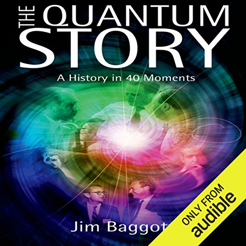 The Quantum Story audiobook cover art