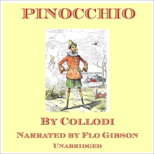 Pinocchio Audiobook By Carlo Collodi cover art
