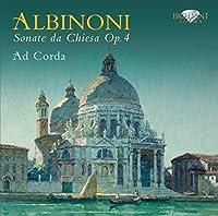 Albinoni: Sonate da Chiesa Op.4 by Ad Corda (2011-06-28)