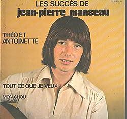 Jean-Pierre Manseau: Les Succes De LP VG++/NM Canada PGP PGP-OR-2405