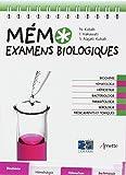 Mémo Examens biologiques