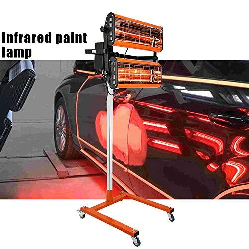 2x1000W IR Infrarotstrahler Lacktrockner Heizstrahler Nfrarotlampe Paint Lamp Infrarotheizung Lampe Heizstrahler KöRper Panel AushäRtelampe IsolationsprüFlampen