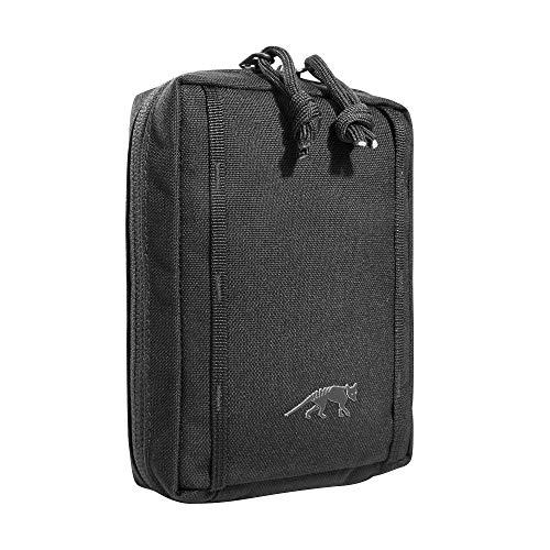 Tasmanian Tiger TT Tac Pouch 1.1 Rucksack Zusatz-Tasche Molle-System kompatibel, Zubehör-Tasche für EDC, Werkzeug oder kleine Erste Hilfe Sets; 15 x 10 x 4 cm, Schwarz