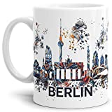 Tassendruck Berlin-Tasse Skyline - Kaffeetasse/Mug/Cup - Qualität Made in Germany
