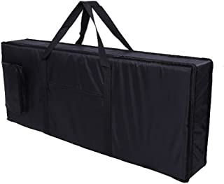 Tosnail 61-note Keyboard Gig Bag Piano Case Padded with...