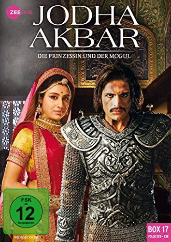 Jodha Akbar - Die Prinzessin und der Mogul (Box 17, Folge 225-238) [3 DVDs]
