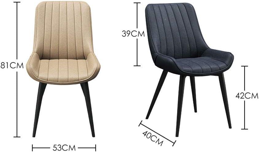 Dining chair WGZ Chaise de Salle à Manger Moderne Minimaliste pour Maison, Restaurant, café, Ordinateur E