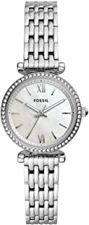 Fossil Womens Quartz Watch, Chronograph Display and Stainless Steel Strap ES4647