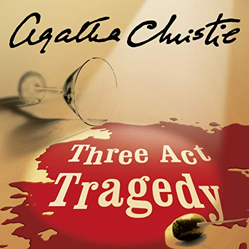 Three Act Tragedy audiobook cover art