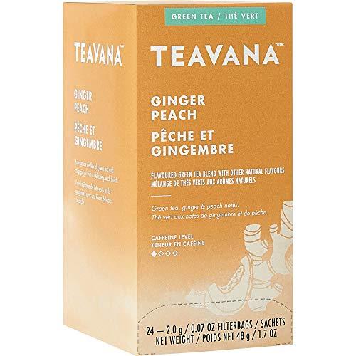 Teavana, SBK12434017, Ginger Peach Green Tea, 24 / Box