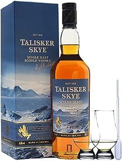 Talisker SKYE Single Malt Whisky 0,7 ltr.  2 Glencairn Gläser und Einwegpipette