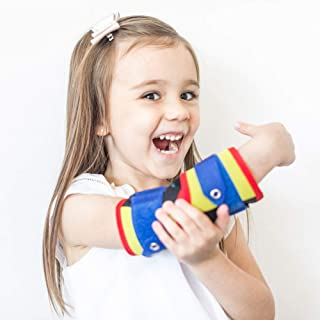 NIPIT (Age 2-7) Thumb Sucking STOP for Kids and Stop Finger Sucking - Prevent HAND-TO-FACE habits using NIPIT Hand Stopper...
