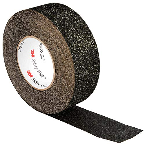 """3M Black Non-Slip Indoor & Outdoor High-Traction 2"""" x 15ft Safety Tape Roll"""