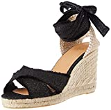 Castañer Bluma, Zapatillas Mujer, Negro/Oro, 39 EU