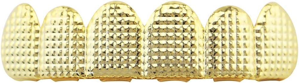OOCC 18K Gold Plated Hip Hop Caps Custom Fit Top Grillz Teeth Grills