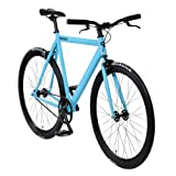 bonvelo Singlespeed Fixie Fahrrad Blizz Into The Blue (XL / 59cm für Körpergrößen ab 181cm)