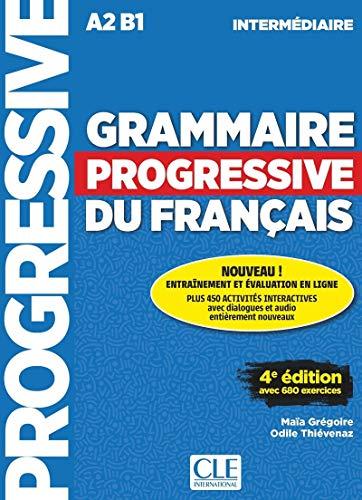 Grammaire Progressive Du Français. Niveau Intermédiaire - 4ª Édition (+ CD): Livre intermediaire