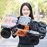 JYXMY Grandes coches de RC eléctrico del camión todo terreno impermeable de 2,4 GHz 1: 8 RTR alta velocidad coche teledirigido campo a través impermeable Monster Truck deriva del truco del juguete for