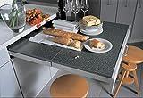 Gedotec Topaflex - Herraje para mesa extensible con parte frontal descendente, longitud de extracción: 810 mm, guías para cajones de madera