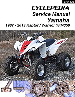 2000 yamaha warrior 350 wiring diagram 1987 2012 yamaha yfm350 raptor warrior repair manual  cyclepedia  1987 2012 yamaha yfm350 raptor warrior