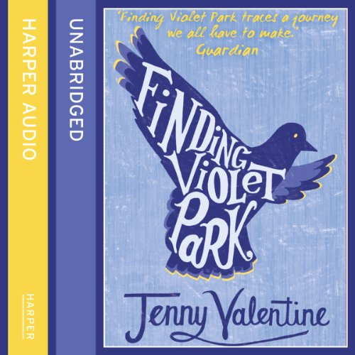 Finding Violet Park audiobook cover art