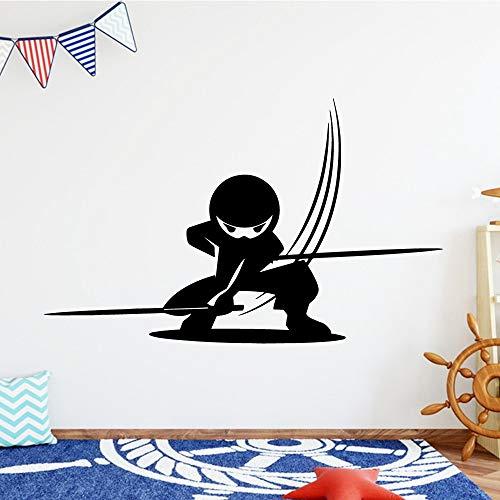 El hombre enmascarado pegatinas de pared pegatina decorativa decoración del hogar para bebés y niños decoración de habitaciones pegatinas de pared A9 43x70cm