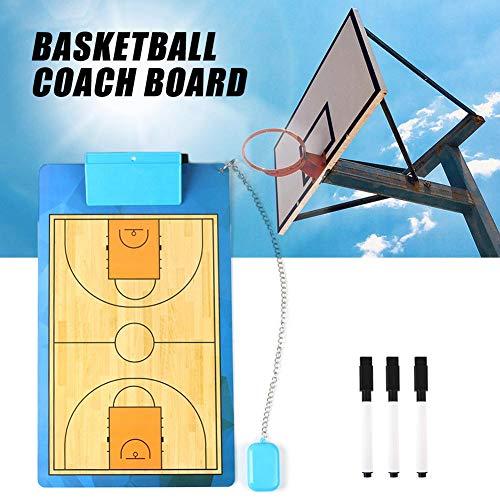 Lifesongs Coach Board Mit Stifte Und Radiergummi Doppelseitig Trocken Löschen Coach Marker Board Für Basketball Fußball Fußball