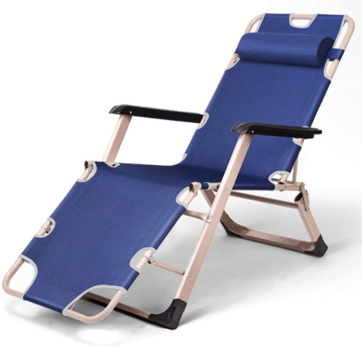 RMJAI Chairs Folding Chair Lunch Break Nap Bed Back Lazy Leisure Beach Home MultiFunction Chair Folding Chair Beach Chair