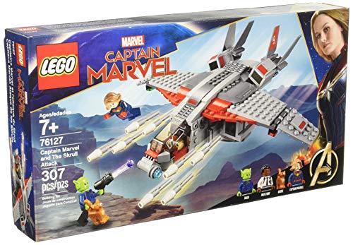 LEGO Marvel (307 elementos): Capitana Marvel: Ataque de los Skrulls (76127)