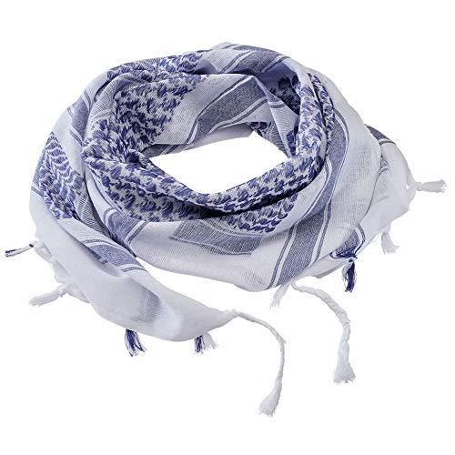 Brandit Shemag Scarf, Blau-Weiß