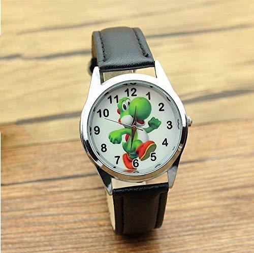 Fashion Armbanduhr Uhr Nette 3D-Karikatur Schöne Kinder Mädchen Jungen Kinder Studenten Super Mario Quarz Armbanduhr Sehr beliebte Uhren