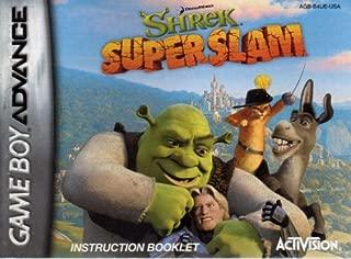 Shrek - Super Slam GBA Instruction Booklet (Game Boy Advance Manual Only - NO GAME) (Nintendo Game Boy Advance Manual)