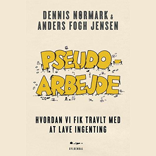 Pseudoarbejde audiobook cover art