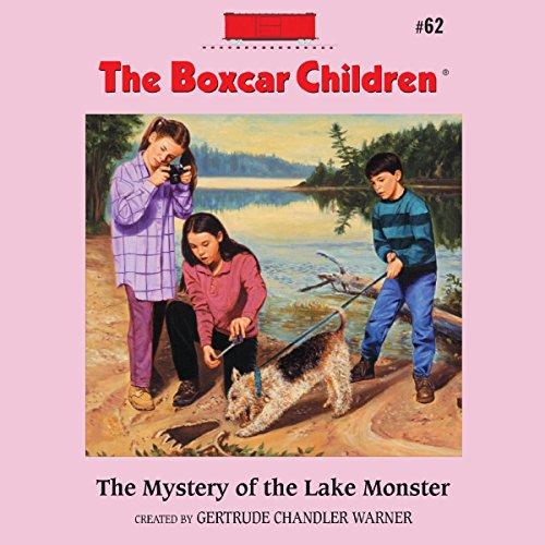 The Mystery of the Lake Monster audiobook cover art