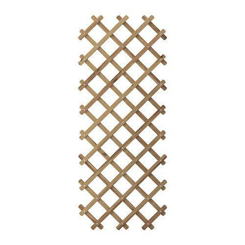 IKEA Askholmen - Spalier, graubraun gefärbt graubraun - 310x60x196 cm