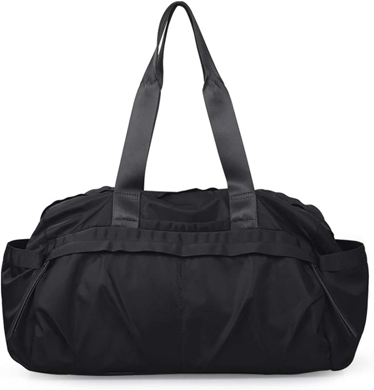 WANGXIAOLINYUNDONGBAO Sporttasche, Reise, wasserabweisend, Reisetasche, tragbar, Handtasche, groe Kapazitt, 43  21  25 cm (3 Farben)
