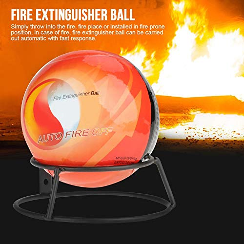 Ferma palla estintore, palla per estintore Lancio facile Strumento per la perdita di incendi Kit di saldatura di sicurezza Palla da lancio estintore(1.3kg)