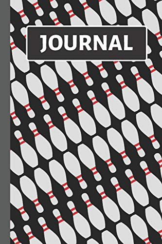 Journal: Black Bowling Notebook / Journal to Write in