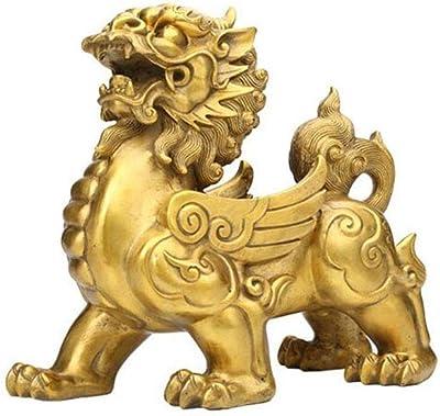 Wenmily Feng Shui Golden Ingot//Yuan Bao Treasure Basin Wealth Porsperity Figurine Best Housewarming Congratulatory Gift,Feng Shui Decor