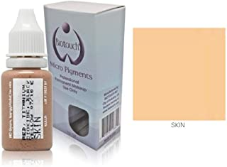MICROBLADING SUPPLIES BioTouch Permanent Makeup Pigment Cosmetic Tattoo Ink LARGE Bottle pigment professional permanent makeup supplies Eyebrow Lip Eyeliner microblading supplies 15 ml (Skin)