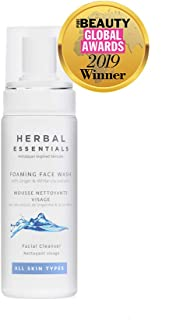 Herbal Essentials Foaming Face Wash with Ginger & White Lily Extracts 150ml
