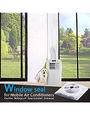 Topown deurafdichting 210 x 90 cm voor mobiele airco; o.a. afdichting voor een deur; eenvoudig te installeren, zonder te boren