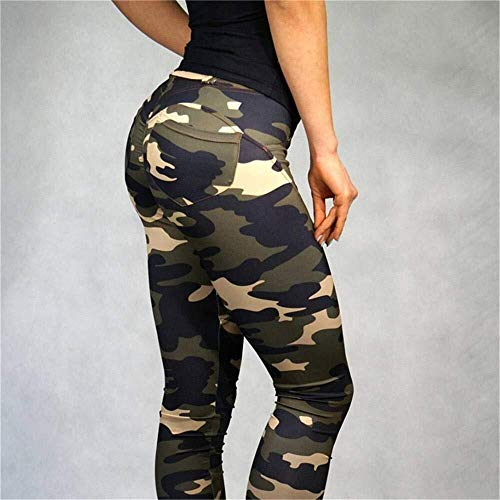 Hcxbb-22 yogabroek voor dames, yogabroek, dames, peach, hip, camouflage, yoga, joggingbroek